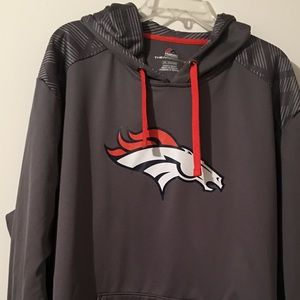 Majestic Denver Broncos Hooded Sweatshirt XXL